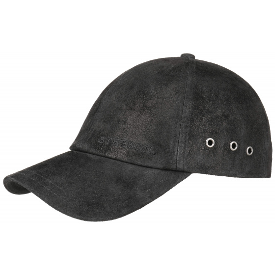 Joes Pigskin black Stetson cap