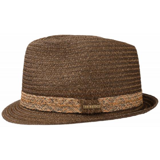 Hat Trilby straw Wende