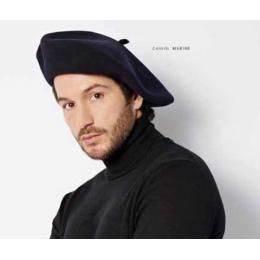 Authentique beret chasseur alpin Héritage par Laulhère noir