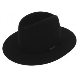 Traveller Badlands Hat Black Wool Felt - Stetson