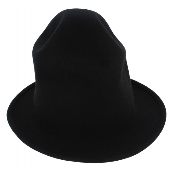 Chapeau Williams Feutre Laine Noir - Traclet