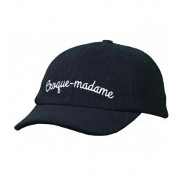 Casquette curve croque madame