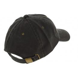 Strapback Onan Baseball Cap Black - Hatland
