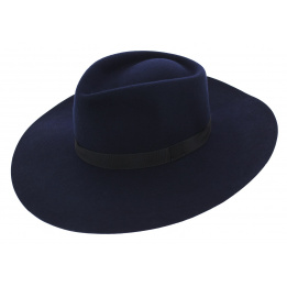 Chapeau grand bord marine