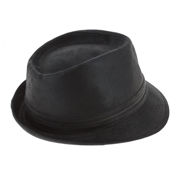 Chapeau Trilby Kairan Noir - Herman