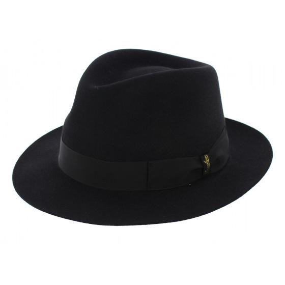 Fedora Borsalino Classic Black Hat