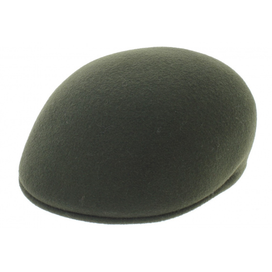 Loden-Traclet rigid wool domed cap