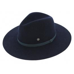 Chapeau Traveller Avery Feutre Laine Bleu - Barts