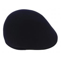 Navy wool cap -TRACLET