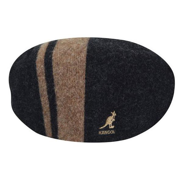 Kangol pour homme Argyle À Rayures 504 couleur noir