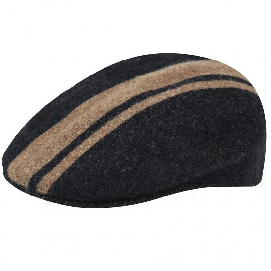 Beret Cap Code Stripe 504