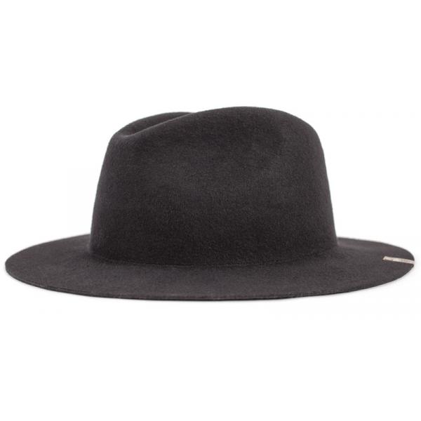 Chapeau Traveller Mojave Feutre Laine noir delavé - Brixton