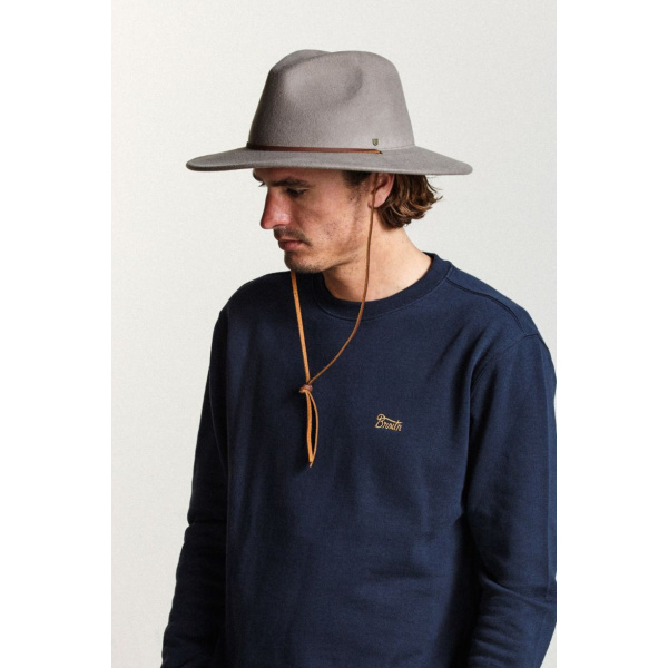 Chapeau Traveller The Walker Coton Noir - Coal