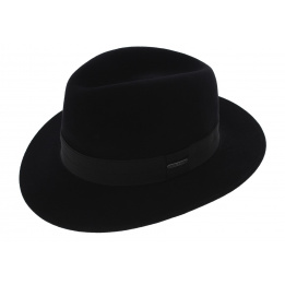 Chapeau Fédora Toledo Feutre Poil Marron - Stetson