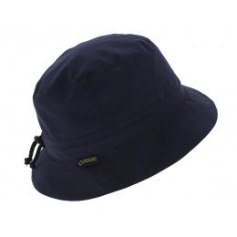 Chapeau bob de pluie marine - Gore tex