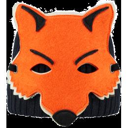 Bonnet barts enfant tête de renard