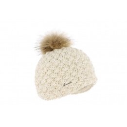 Bonnet Pompon Fourrure Passion Laine -Herman