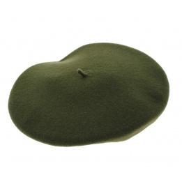 Beret Amboise vert - Heritage Laulhère