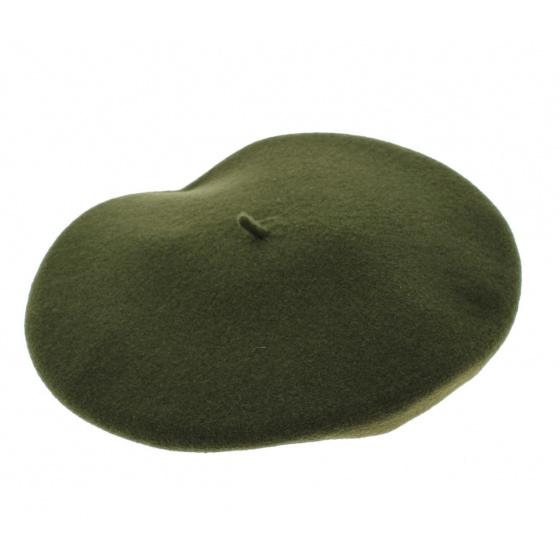 Green Amboise cushion - Heritage Laulhère