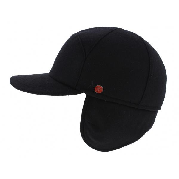 17d8e6fbc81 casquette cache oreille - cortina - casquette baseball laine