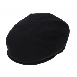 Casquette Plate Cachemire Borsalino noir
