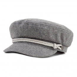 Casquette Plate Hooligan Toffe Laine - Brixton