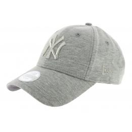 Strapback Tech Jersey Cap Grey