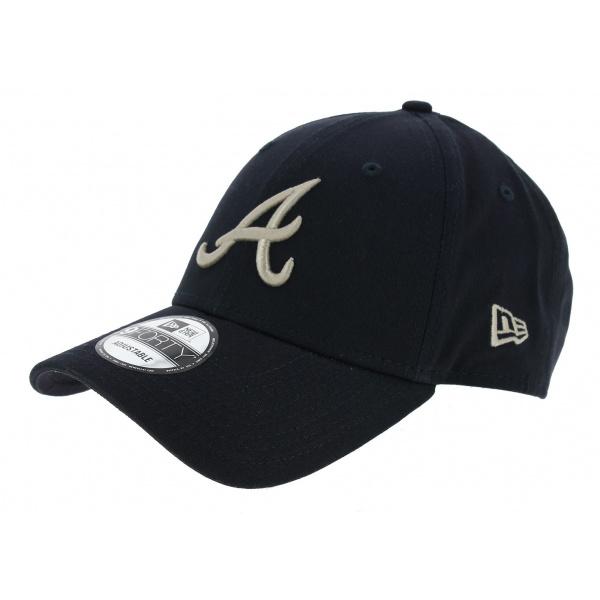 Strapback Essential Atlanta Blue Cotton Cap - New Era