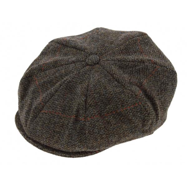 066187af Irish cap gray chevron ...