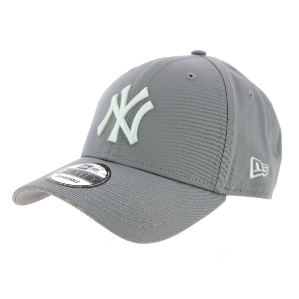 Véritable Casquette Baseball New-York Grise- New Era
