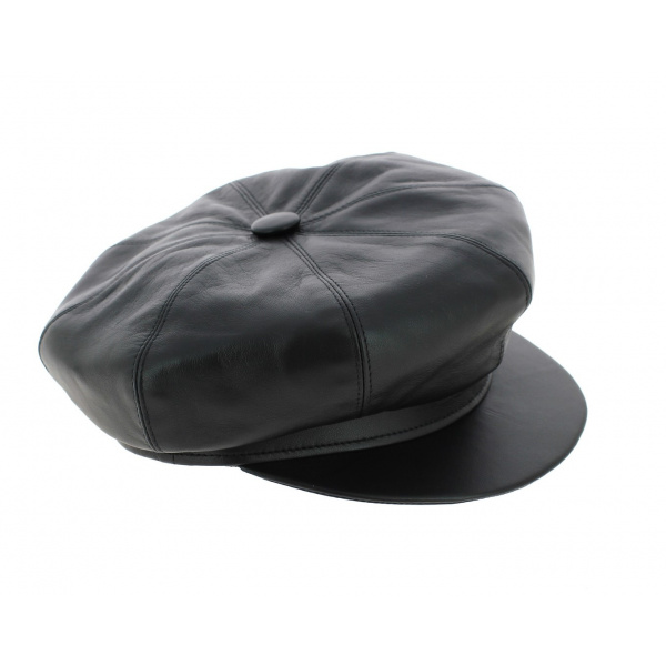 en soldes 94b3b 93ef0 Chapeau et casquette en cuir, achat en ligne chapeaux ...