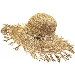 Chapeau forme Capeline - Dorfman - coloris beige
