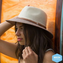 Chapeau Traveller London Naturel - Rigon Headwear