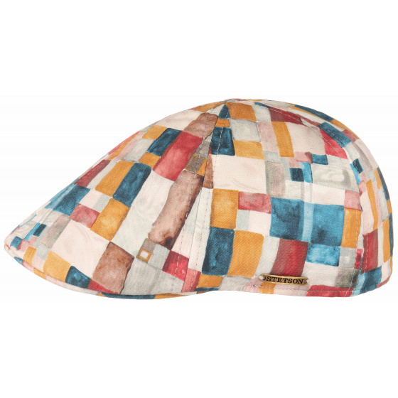 Casquette Texas Washed Check by Stetson