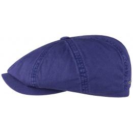 Casquette hatteras coton Bleu Stetson