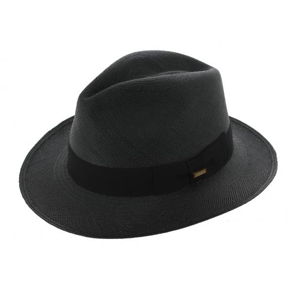 Chapeau Traveller Gamblino Panama Noir - Traclet
