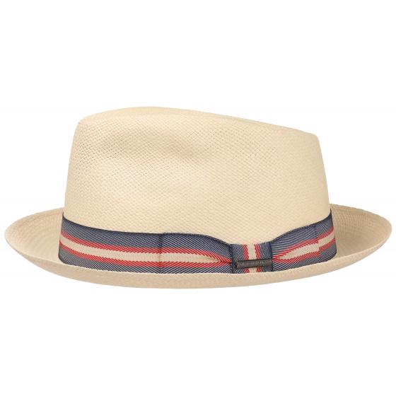 PorkPie / Trilby hat Solvay Panama Natural Panama - Stetson