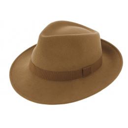 Chapeau Fedora Feutre Laine Lama - Traclet