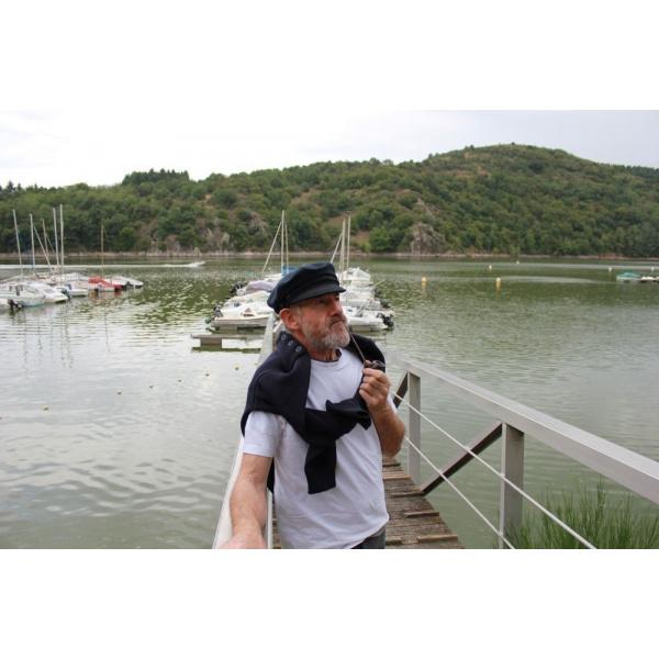 Casquette marin noir caban Camaret fabrication française