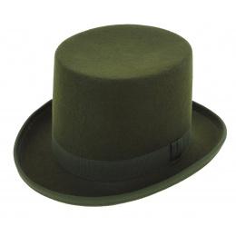 Chapeau haut de forme - Vert bouteille