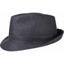 Trilby linen hat