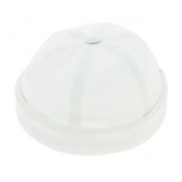 Bonnet Docker Cooper Coton Blanc - Mtm