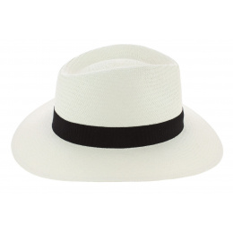 Traveller Hat Libertad Panama Hat White - Traclet