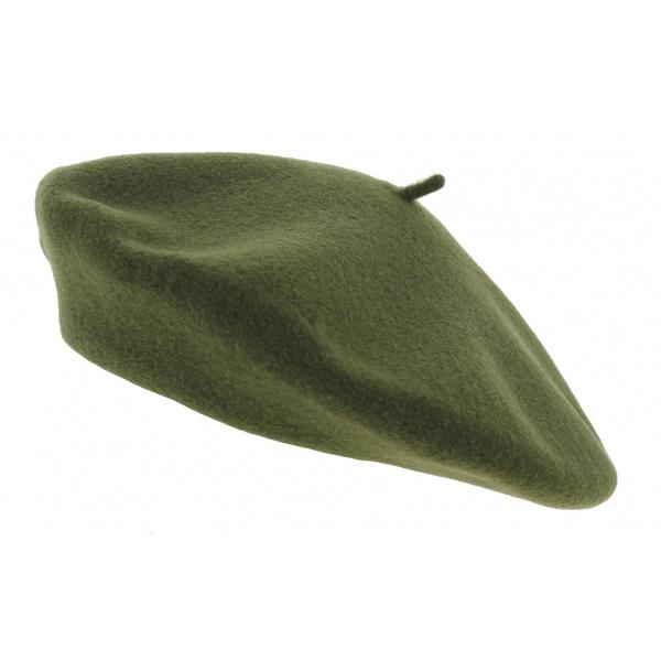 Béret vert Kaki  - Laulhère