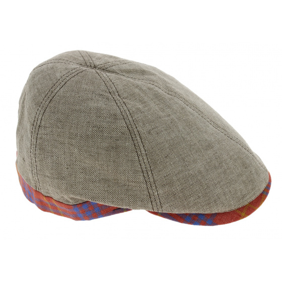 Casquette Gatsby Varadero Lin Beige - Traclet