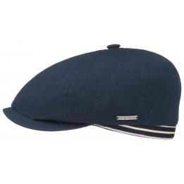 Casquette Brooklin Cotton été Bleu marine - Stetson
