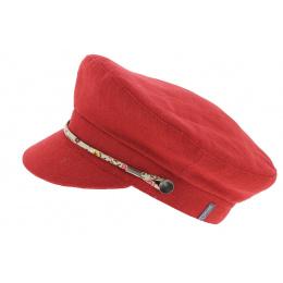 Cap Marin Camaret Linen Red - Mtm