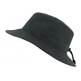 Chapeau bob de pluie Noir Gore Tex - TRACLET