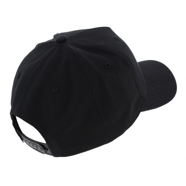 Casquette Baseball Manor Noir Coton - King Apparel