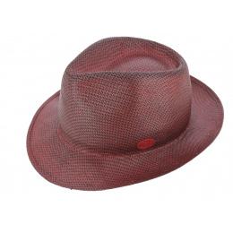 Chapeau Fedora Lisca Rouge Papier - Raffaele Marone